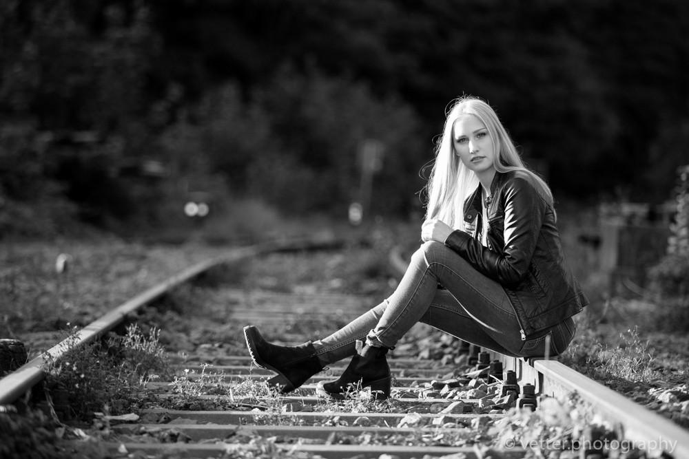 Herbst-Shooting am Bahnhof Dahlhausen