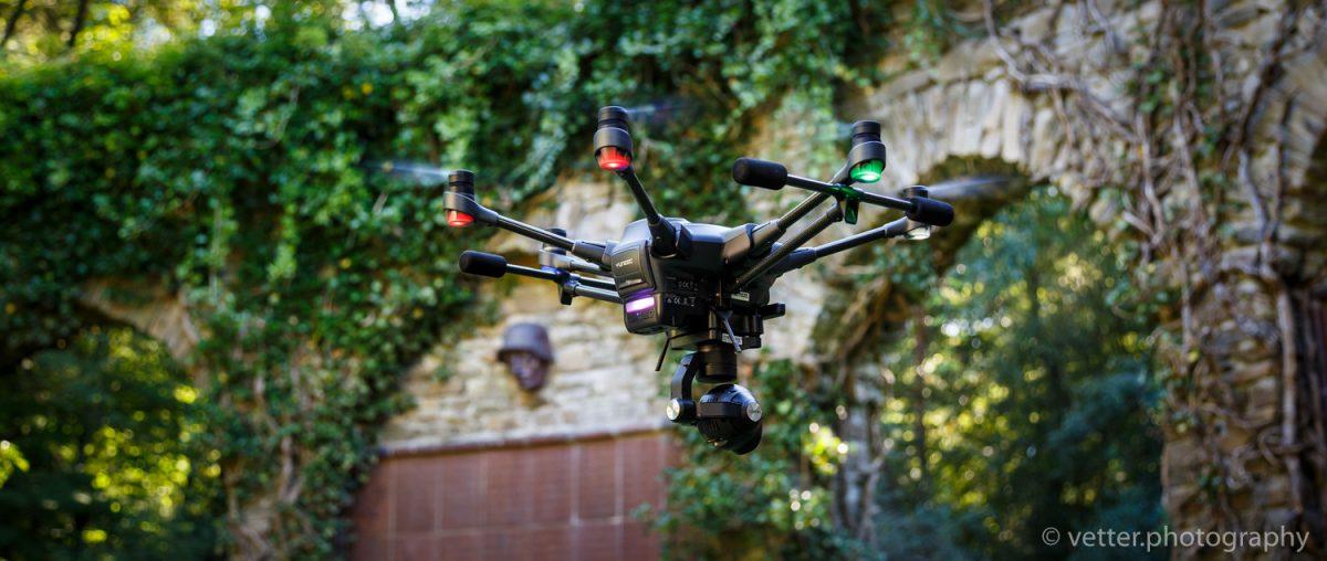 Neue Perspektiven – der Hexacopter